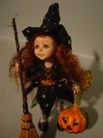 Ghita the Little Witch - Oct 2010