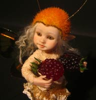 Little Fae Mabel and the Two blackberries - Dec 2010