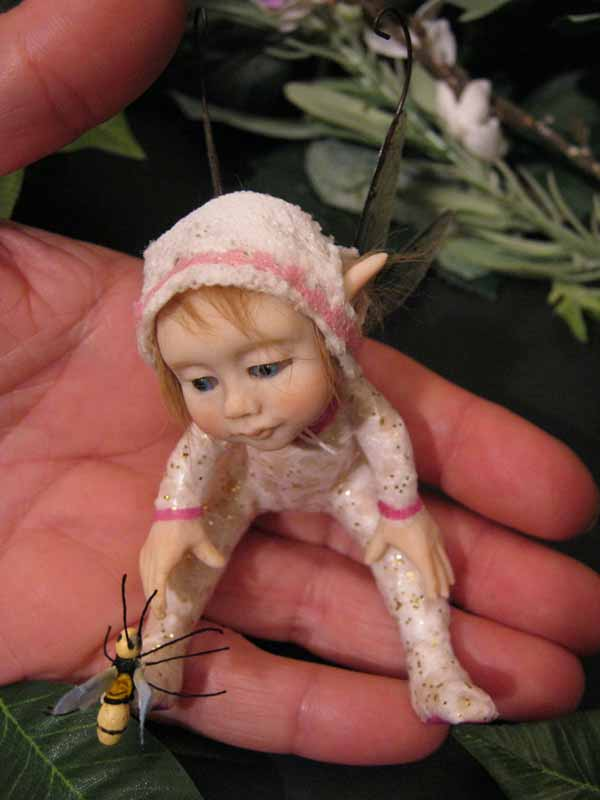Baby Fairie Jacques and Wasp