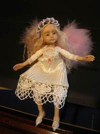 Blanche Posable Fairy Angel