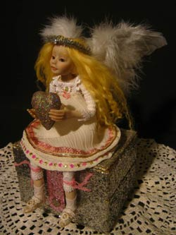 Ooak Posable Dalia Fairy Angel - Gallery