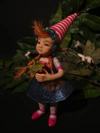 Ooak Baby Fairy Tale Emily and the Strawberry