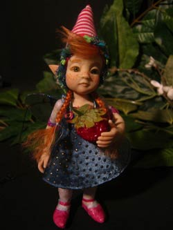 Ooak Baby Fairy Tale Emily and Strawberry - Gallery
