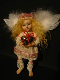 S. Valentine's day Fairy Angel Denise