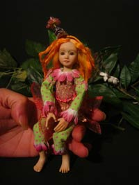 Ooak Posable Fairy Zina & Zac