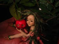 Ooak Fairy Fae Licia and little Sisters