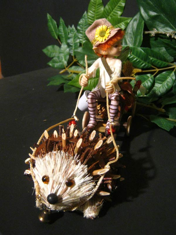 Ooak Fairy Tale Andrè and the Hedgehog