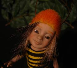 Ooak Pixie Furio Sentinel of the Bees - Gallery