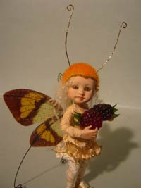 Little Fairy Fae Mabel and the blackberries