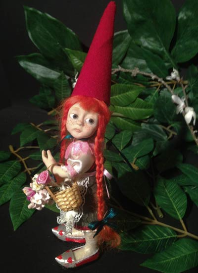 Ooak Pippa the Gnome - Gallery