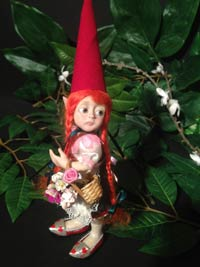 Ooak Pippa the Gnome
