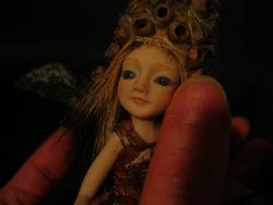 "Ooak Pixie Ranien and ""Magic Seeds"""