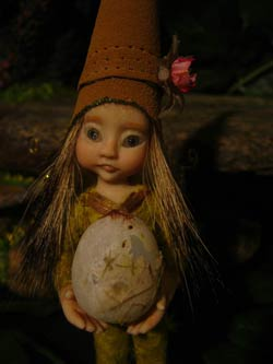 Ooak Baby Fairie Tumimi and Egg - Gallery