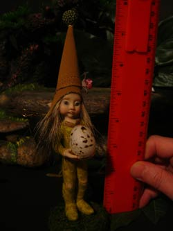 Ooak Fairie Pixie Tumimi and Egg